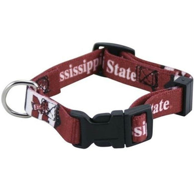 Mississippi State Bulldogs Pet Collar XS