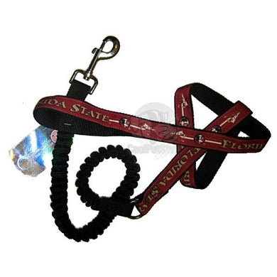 Florida State Seminoles Bungee Ribbon Pet Leash