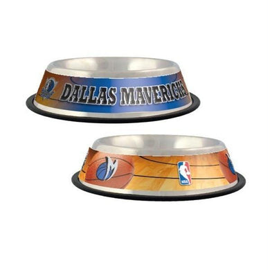 Dallas Mavericks Dog Bowl