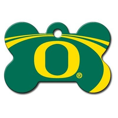 Oregon Ducks Bone ID Tag