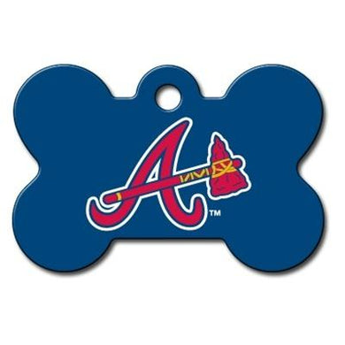 Atlanta Braves Bone ID Tag