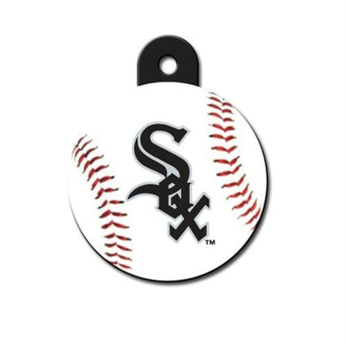 Chicago White Sox Circle ID Tag