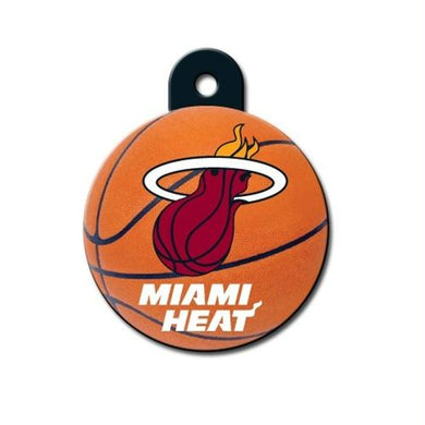 Miami Heat Circle ID Tag