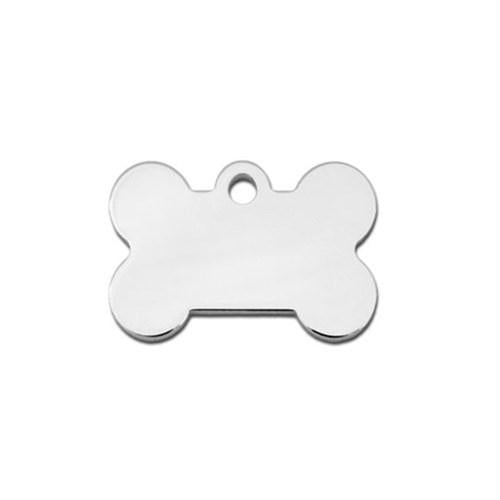Small Polished Bone ID Tag