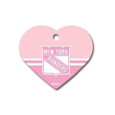New York Rangers Heart ID Tag