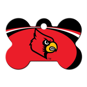 Louisville Cardinals Bone ID Tag