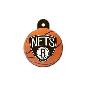 Brooklyn Nets Circle ID Tag