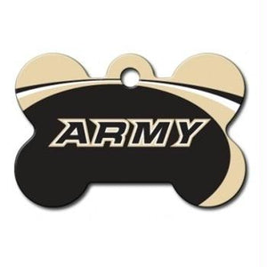 Army Black Knights Bone ID Tag