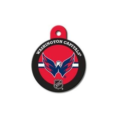Washington Capitals Large Circle ID Tag