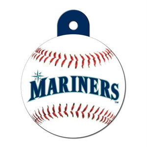 Seattle Mariners Large Circle ID Tag