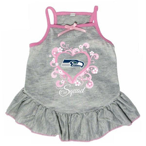 "Seattle Seahawks ""Too Cute Squad"" Pet Dress"