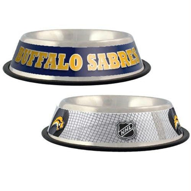Buffalo Sabres Dog Bowl