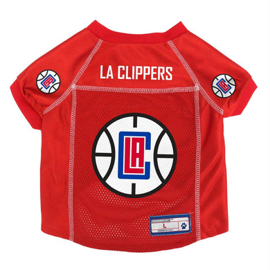 Los Angeles Clippers Pet Mesh Jersey - X-Large