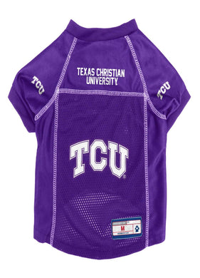 TCU Horned Frogs Mesh Pet Jersey