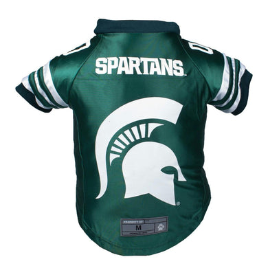 Michigan State Spartans Pet Premium Jersey