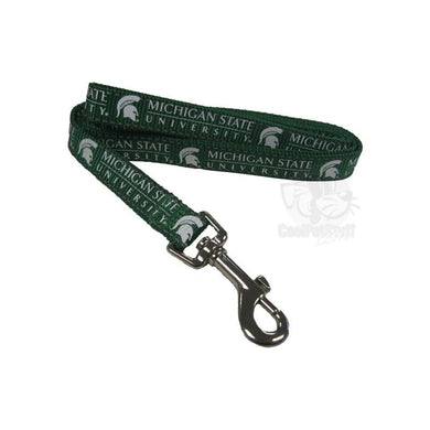 Michigan State Spartans Pet Reflective Nylon Leash