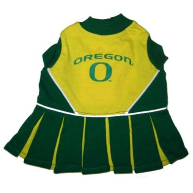 Oregon Ducks Cheerleader Dog Dress