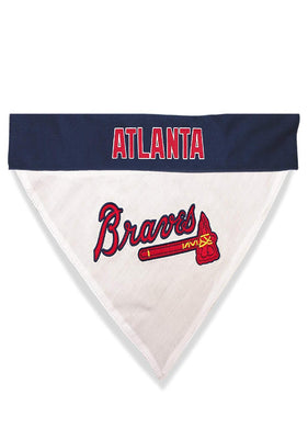 Atlanta Braves Pet Reversible Bandana