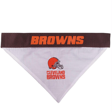 Cleveland Browns Pet Reversible Bandana