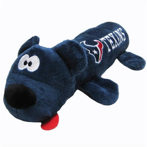 Houston Texans Plush Tube Pet Toy