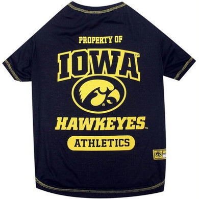 Iowa Hawkeyes Pet Tee Shirt
