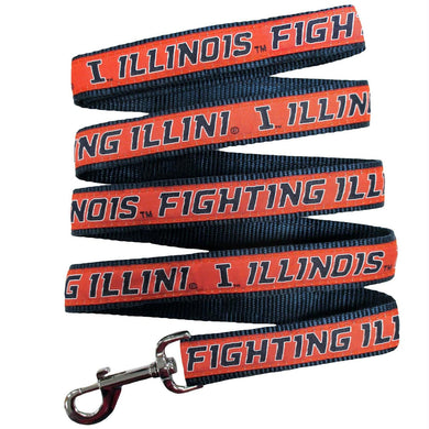 Illinois Fighting Illini Pet Leash by Pets First