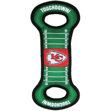 Kansas City Chiefs Field Pull Dog Toy