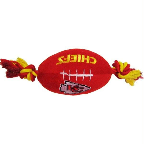 Kansas City Chiefs Football Pet Toy