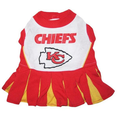 Kansas City Chiefs Cheerleader Pet Dress