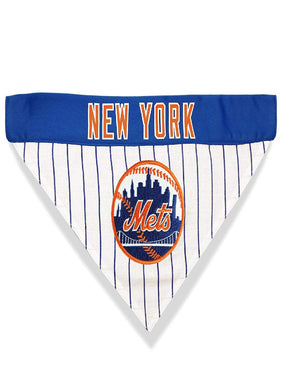 New York Mets Pet Reversible Bandana