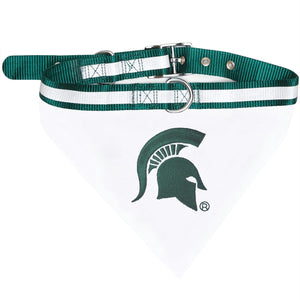 Michigan State Spartans Pet Collar Bandana