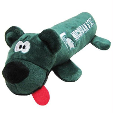 Michigan State Spartans Plush Tube Pet Toy