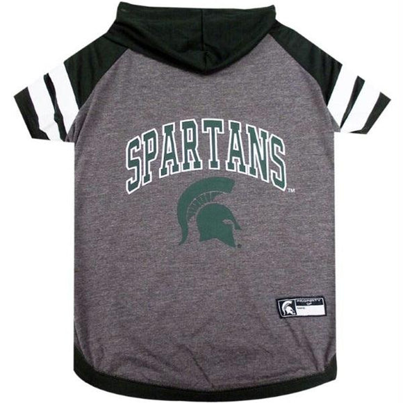 Michigan State Spartans Pet Hoodie T-Shirt