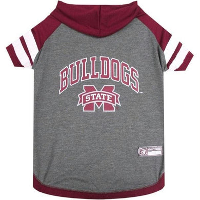Mississippi State Bulldogs Pet Hoodie T-Shirt