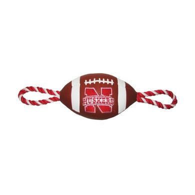 Nebraska Huskers Pebble Grain Football