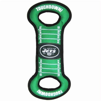 New York Jets Field Pull Dog Toy