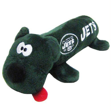 New York Jets Plush Tube Pet Toy