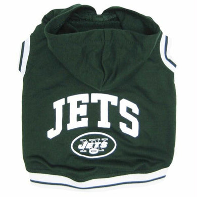 New York Jets Pet Hoodie Sweatshirt