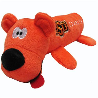 Oklahoma State Cowboys Plush Tube Pet Toy