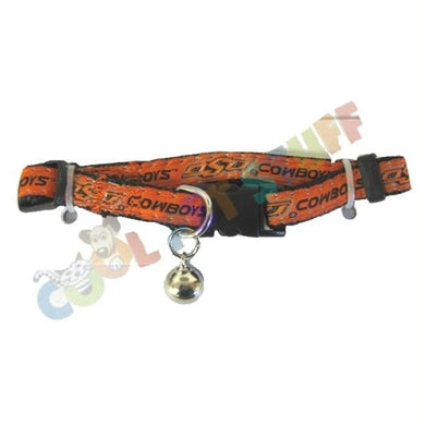 Oklahoma State Cowboys Breakaway Cat Collar