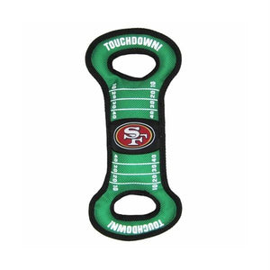 San Francisco 49ers Field Pull Dog Toy