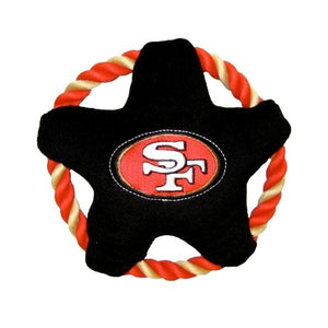 San Francisco 49ers Star Rope Disk