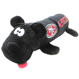 San Francisco 49ers Plush Tube Pet Toy