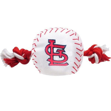 St. Louis Cardinals Nylon Baseball Rope Tug Toy