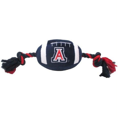 Arizona Wildcats Plush Football Pet Toy
