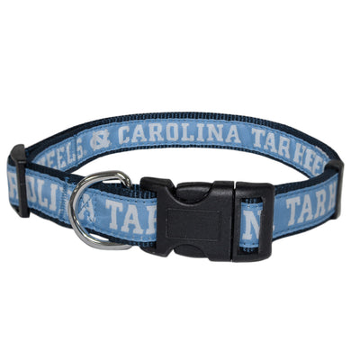 North Carolina Tarheels Pet Collar by Pets First - Small