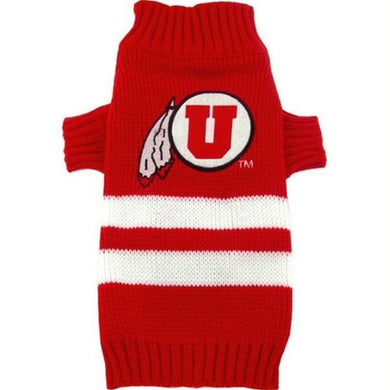 Utah Utes Pet Sweater