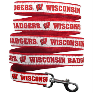 Wisconsin Badgers Pet Leash by Pets First