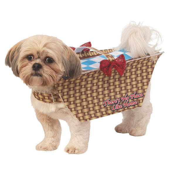 Wizard Of Oz Toto Basket Pet Costume