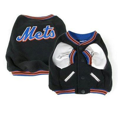 New York Mets Varsity Dog Jacket